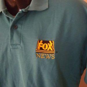 Vtg Fox News polo